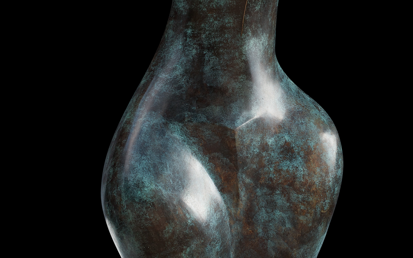 Helen II 2004 bronze H 184 cm