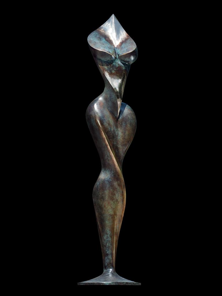 Carmen II 2004 bronze H 185 cm