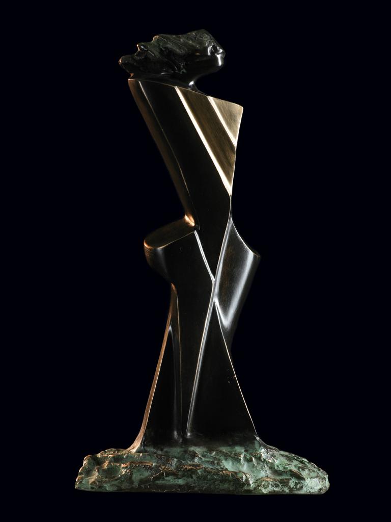Gea 2003 bronze H 25 cm