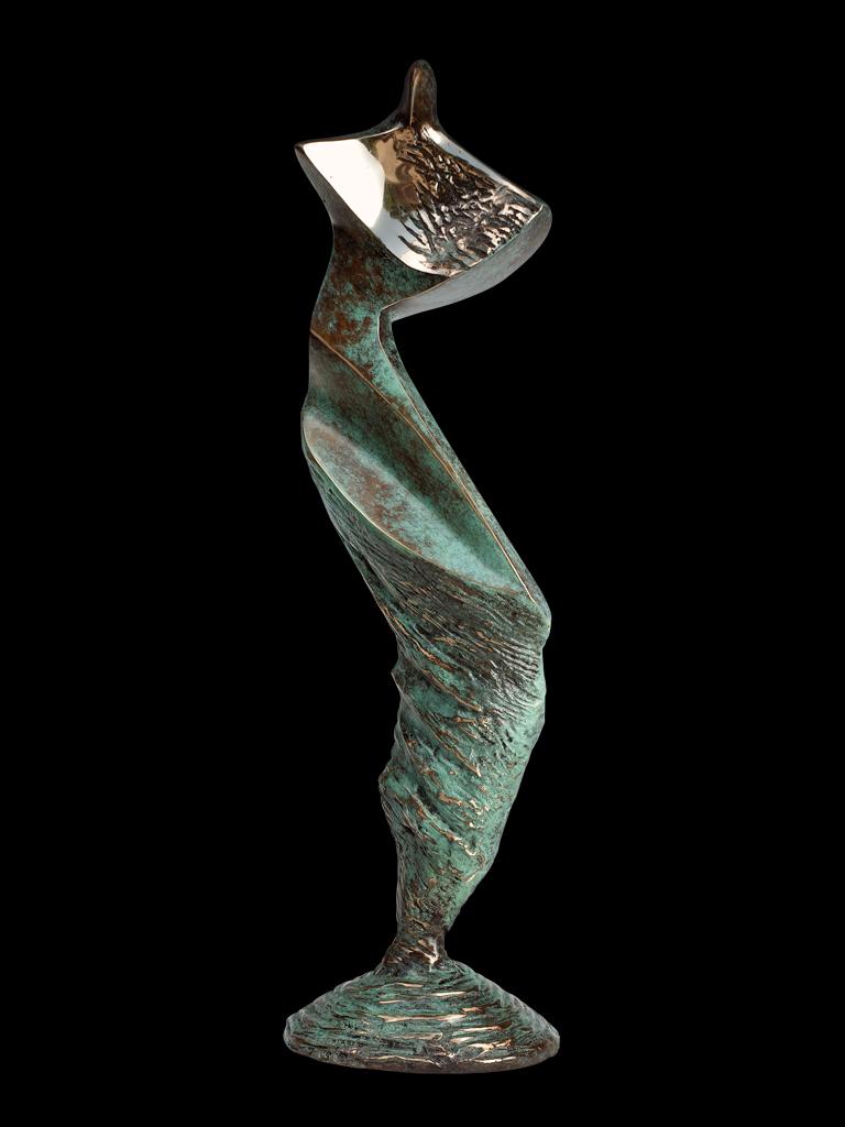Izolda 2011 bronze H 43 cm