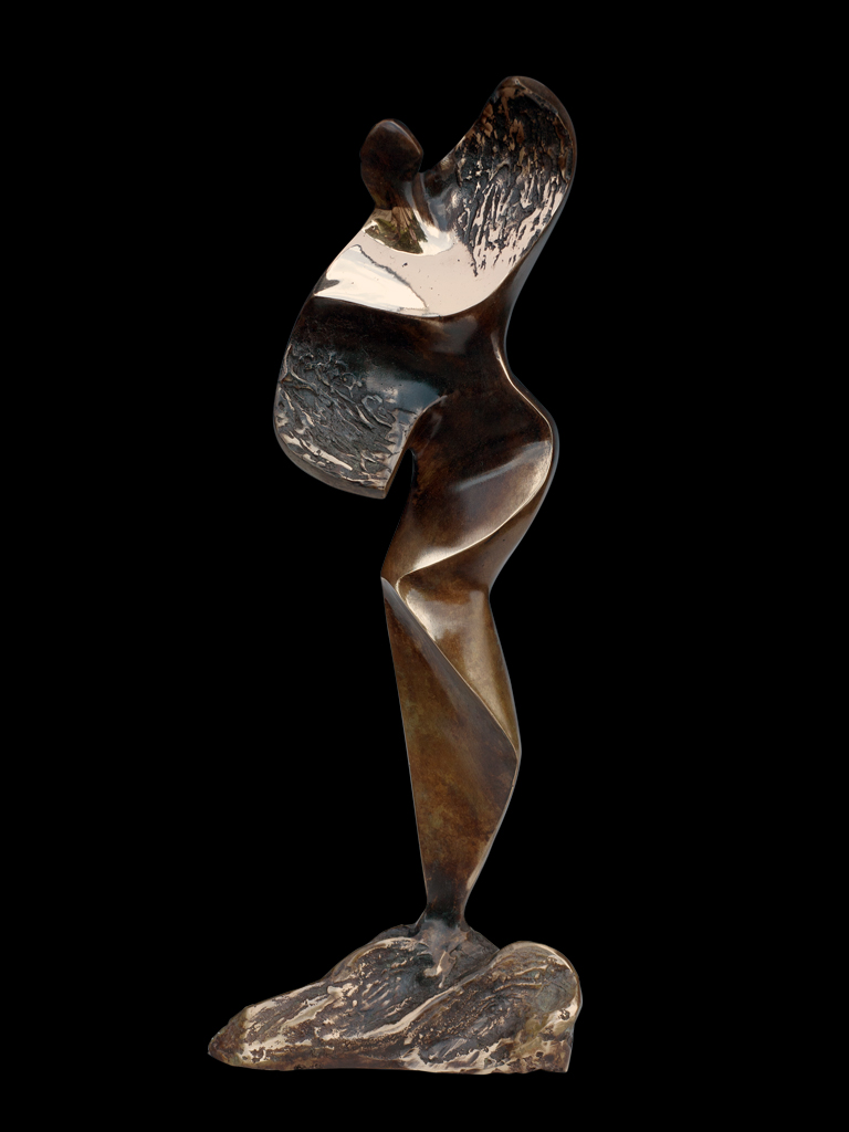 Na Fali (On the Wave) 2005 bronze H 43 cm