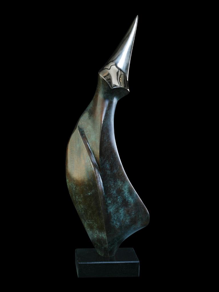 Pingwin I (Penguin I) 2010 bronze H 69 cm
