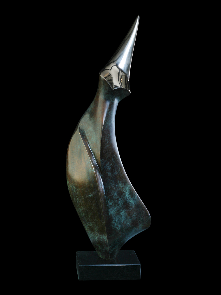 Pingwin I 2010 brąz H 69 cm