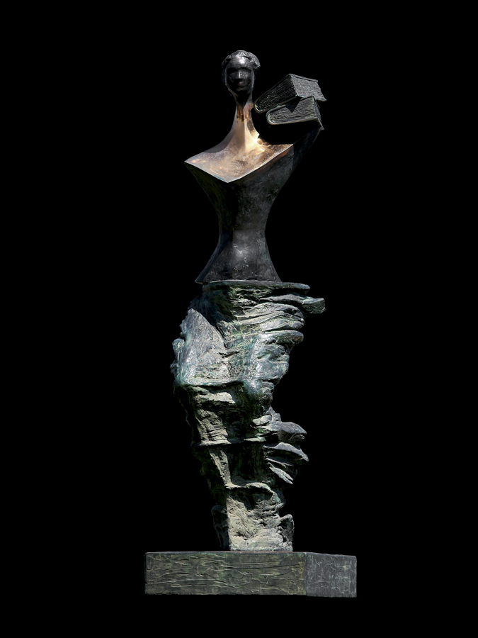 Powodzianka (Lady of the Flood) 1998 bronze