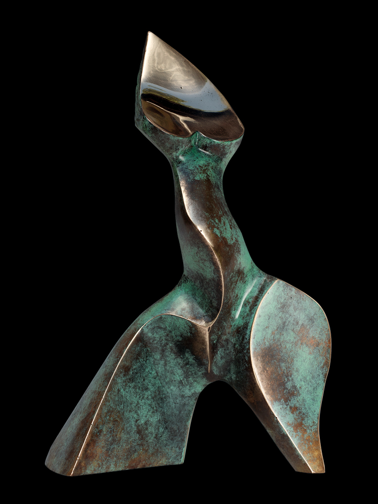 Spacer (A Stroll) 2010 bronze H 29 cm