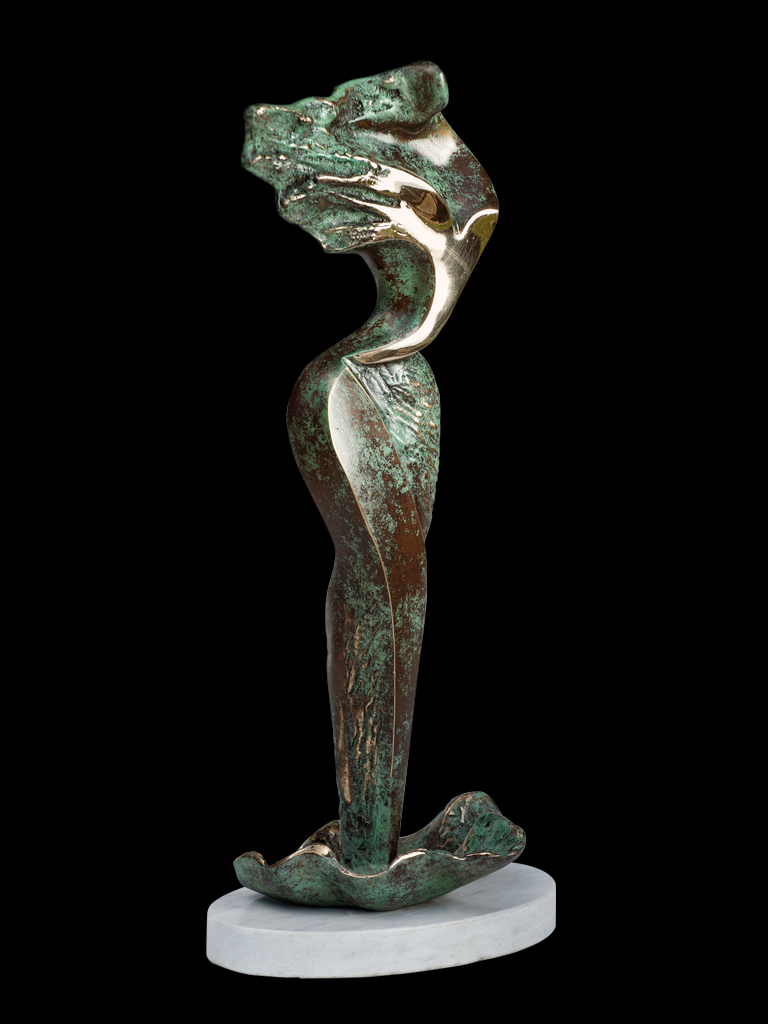 Z morskiej piany (Out of the Sea Spume) 2011 bronze H 37 cm